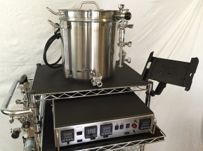 Brew kettle on my cart